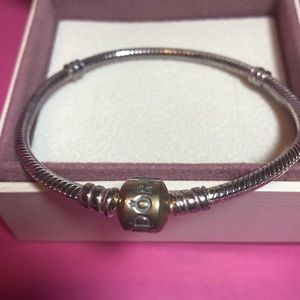 NWOT in Box Authentic Pandora Charm Bracelet